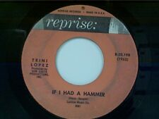 "TRINI LOPEZ ""IF I HAD A HAMMER / UNCHAIN MY HEART"" 45"