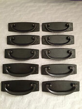 Dresser Drawer Pulls Cabinet Pull Handle dark bronze 10 total
