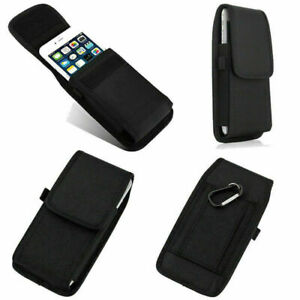 For Apple iPhone 11Pro Max X/XR/XS Max Belt Hook Pouch Nylon Holster Case Cover
