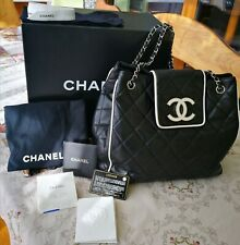 CHANEL CC Flap Grand Shopping Tote Bag in Very good condition.