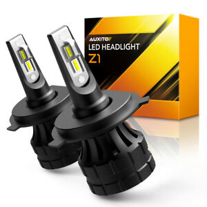 AUXITO 9003 H4 LED HeadLight Bulbs High Low Beam Replacement 20000LM 60W Pair