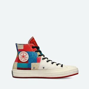 """Converse Chinese New Year Chuck 70 """"Patchwork"""" Hi top Sneaker 170565C Multi Clr"""