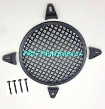 """10"""" SUBWOOFER SPEAKER GRILL COVER MESH GRILL PROTECT GUARD with CLAMPS / SCREWS"""