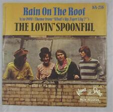 THE LOVIN SPOONFUL 45 RECORD RAIN ON THE ROOF KAMA SUTRA #KA-216 PICTURE SLEEVE