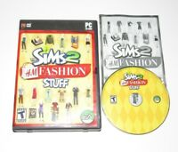 The Sims 2 H&M Fashion Stuff PC Game Expansion Pack 2007 Complete