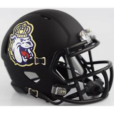 JAMES MADISON DUKES NCAA Riddell SPEED Authentic MINI Football Helmet