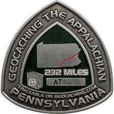 Appalachian Trail 2006 Geocoin - Pennsylvania, Antique Silver (LE), Unactivated