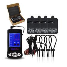 Medical Themed Electro Shock Electric Stimulation Host 4 Rings Pads E-stim Set