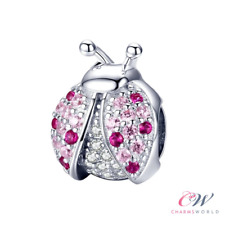 Ladybird Charm Genuine 925 Sterling Silver.  Gift  💞