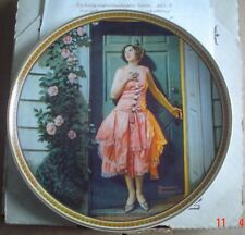 Knowles American Fine China STANDING IN THE DOORWAY Norman Rockwell Boxed