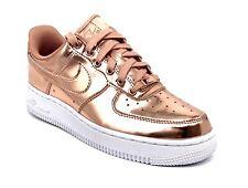 WMS Nike Air Force 1 Low Metallic Bronze Rose Gold Size 7 - CQ6566-900