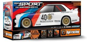 HPI RS4 Sport 3 - 3 BMW M3 E30 Warsteiner - Ready to Run 4WD Touring Car 120103