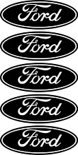 5x #Ford Oval Logo Sticker Vinyl Decal Badge car decal Fiesta Focus Mondeo