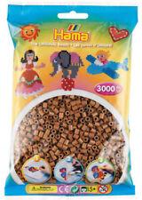 Hama 3000 Midi Bügelperlen 201-76 Nougat Ø 5 mm Perlen Steckperlen Beads