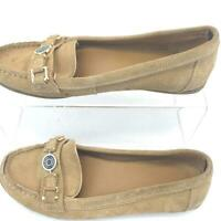 Tommy Hilfiger Tan Shoe Leather Womens Size 8.5.M.