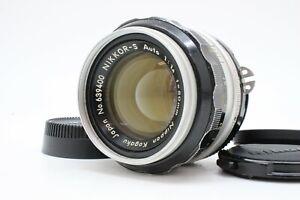 【 EXC+++++ 】 NIKON Ai NIKKOR-S Auto 50mm F1.4 Standard SLR MF Lens From JAPAN