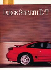 1990 1991 Dodge Stealth R/T Turbo Original Car Review Print Article J553