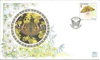Painted Lady Butterfly Benham First Day Cover 1993 Isle Of Man Pmark Z8839