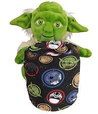 Yoda Plush & Throw Blanket Disney Star Wars Hugger Galaxy NWT MSRP $49.99
