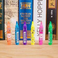 6 Colored Liquid Chalk Fluorescent Marker Chalkboard Window Pens Bolder Line