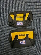 ( 2 ) DeWalt  13x9x9 Six Pocket Contractor's Bag for Power and Hand Tools