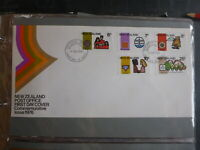 1976 NEW ZEALAND COMMEMORATIVES SET 5 STAMPS FDC FIRST DAY COVER
