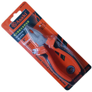 "ASAKI - 6"" Combination Pliers Electrical Quality Tools"
