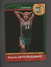 2013-14 Panini #147 Giannis Antetokounmpo Milwaukee Bucks RC Rookie