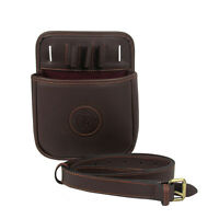 Tourbon Leather Shotgun Cartridge Holder Waist Bag Speed Pack Case Hunting Shoot