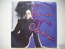 "Janet Jackson - WHAT HAVE YOU DONE FOR ME 7 "" (s625)"