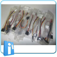Lote Cables;  20 x SATA  MOLEX Alimentación adaptador