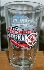 BOSTON RED SOX 2004 AL CHAMPS WORLD SERIES PINT GLASS
