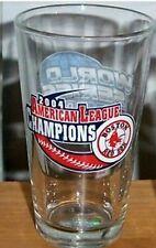 BOSTON RED SOX 2004 AL CHAMPS WORLD SERIES PINT GLASS