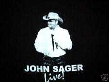 JOHN SAGER CONCERT SHIRT country Christian LARGE
