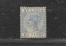 ST. LUCIA STAMP #31 (HINGED) FROM 1883-89