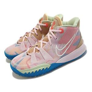 Nike Kyrie 7 GS 1 World 1 People Pink Blue Junior Kids Women Shoes CT4080-600