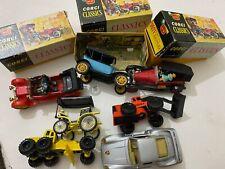 Vintage Lot of CORGI Classics & Other Miniature Cars