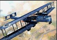 Roden 050 Zeppelin Staaken R.VI (aviatik, 52/17) - 1/72 Scale Model Kit 586 mm