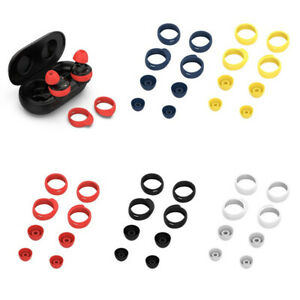 Replacement Ear Tips and Wing Tips for Samsung Galaxy Buds /Plus S/M (8pcs)