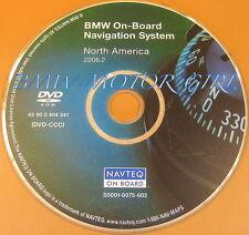 2004 2005 BMW 525i 530i 545i 5 Series Navigation DVD Map United States / Canada