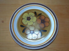 """Chadds Ford Japan ALOHA Dinner Plate 10 5/8"""" Yellow Orange Flowers 3 available"""