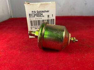 Mercruiser Oil Pressure Sender Unit - 897345034 - NEW