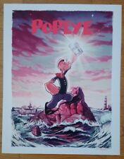 Popeye John Keaveney poster NYCC Not Mondo