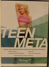 Teen Meta Tracy Anderson Method 4 DVD set workout fitness exercise cardio dance