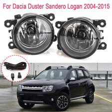 Fog Light Wires Harness Switch w/ Bulbs For Dacia Duster Sandero Logan 2004-2015