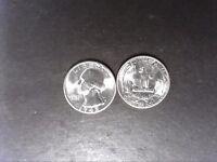 1945-P Choice/Gem BU Washington Quarter - 1 Coin