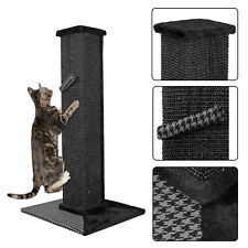 "32"" Sisal Scratching Post Cat Tree House Condo Tower Play Kitty Climbing Furnitu"
