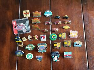Vintage to Now Sports Pin Lot Super Bowl Pro Bowl NFL MLB NASCAR NHL Preakness