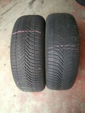 2x 235/60/18 MICHELIN CROSSCLIMATE TYRE 5-6mm TESTED 235 60 18 2356018
