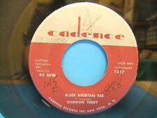 Gordon Terry Black Mountain Rag / Orange Blossom Special 1957 45 Cadence 1317